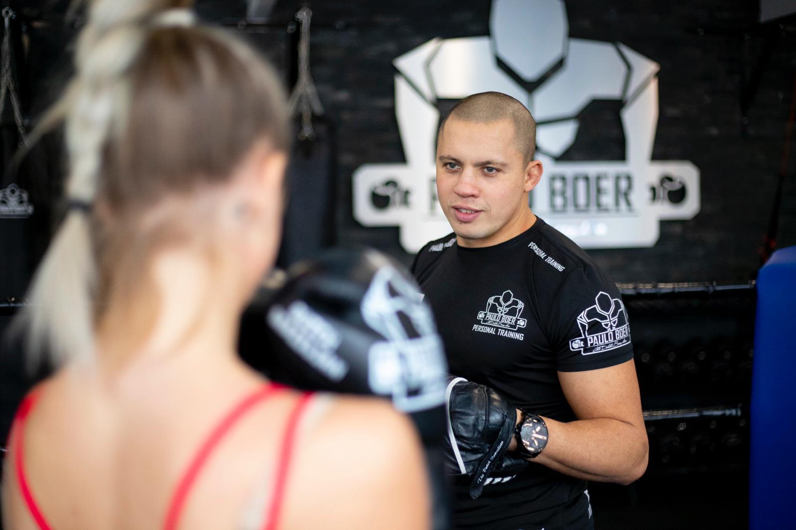 Personal trainer Paulo Boer
