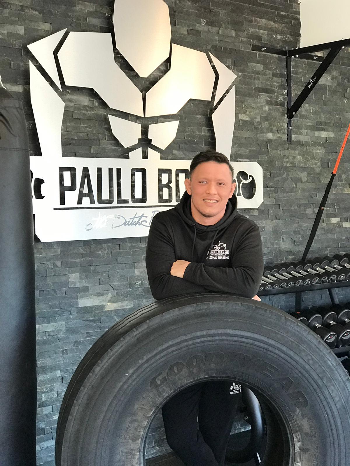 Personal MMA trainer Marino van Dijk